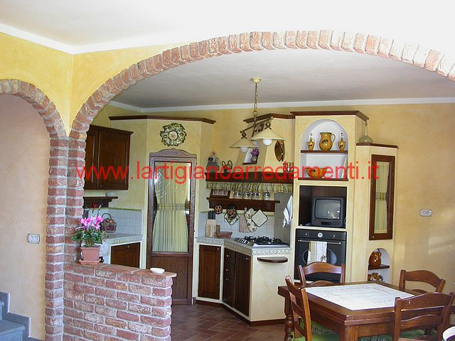 Realizzazioni cucine pag 6 - Foto cucine in muratura ...
