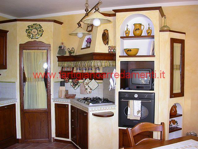 Fare una cucina in muratura cucina stile inglese - Immagini cucine in muratura ...
