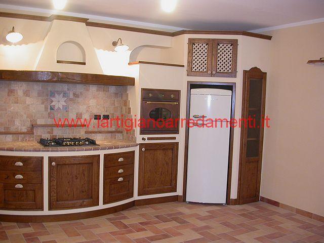 Cucina 191 - Foto cucina in muratura ...