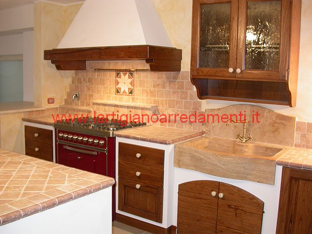 Cucine in muratura foto realizzazioni pag 7 - Foto cucina in muratura ...