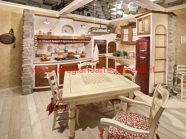 Cucine in muratura foto realizzazioni - Mobili per cucine in muratura fai da te ...