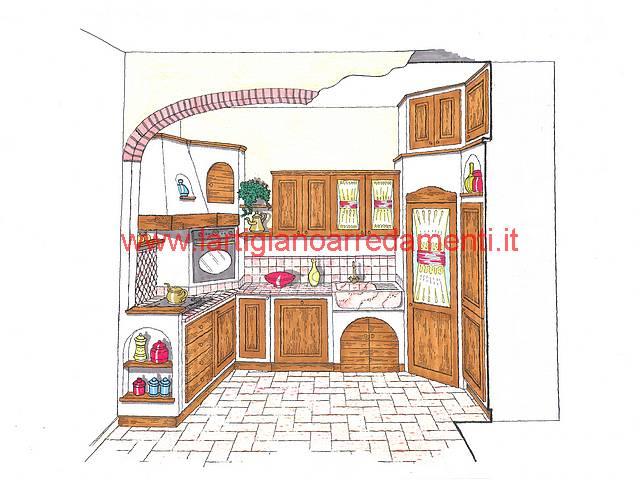 Progetti cucine in muratura Pag. 4