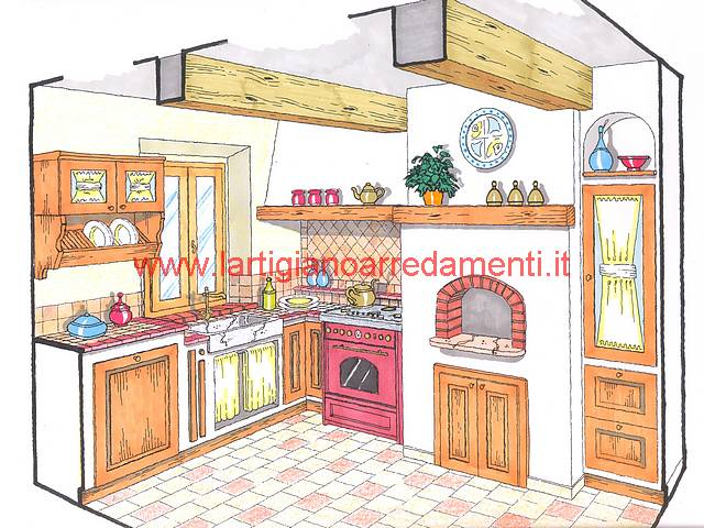 Progetti Cucine In Muratura Rustiche. Cucina With Progetti ...